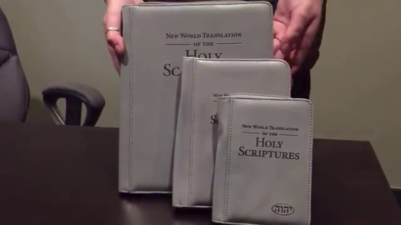 Leather Zipper Bible Covers for the New World Translation