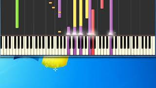 Gloria Estefan   Here We Are [Synthesia Piano] [Piano Tutorial Synthesia]