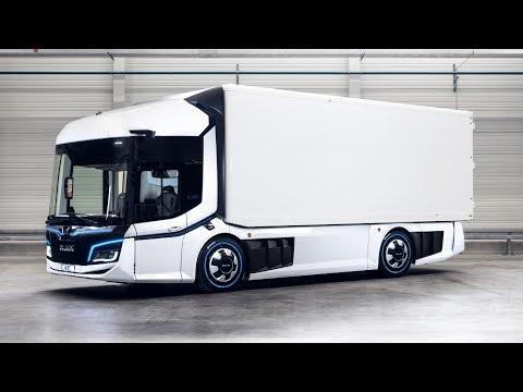 MAN CitE Innovation Truck Exterior Interior SlideShow