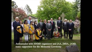 On May 22nd, 2014 at the Woodlawn Cemetery in New York City, Ambass...