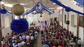 Eucaristía Solemne Parroquia Santa María de los Ángeles. Agosto de 2017