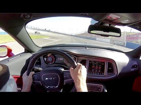 WRR TV: 2015 Dodge Challenger SRT Hellcat (6MT) - Auto Club Speedway Track Test