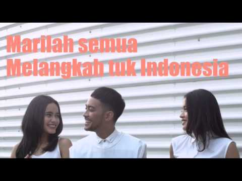 Untuk Indonesia - GAC (Lyric Video) - Stronger