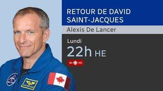 David Saint-Jacques rentre sur Terre