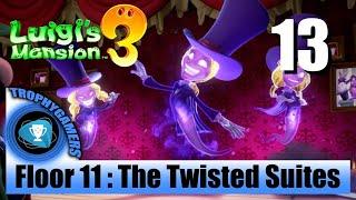 Luigi's Mansion 3 – Floor 11 : The Twisted Suites - Walkthrough Part 12
