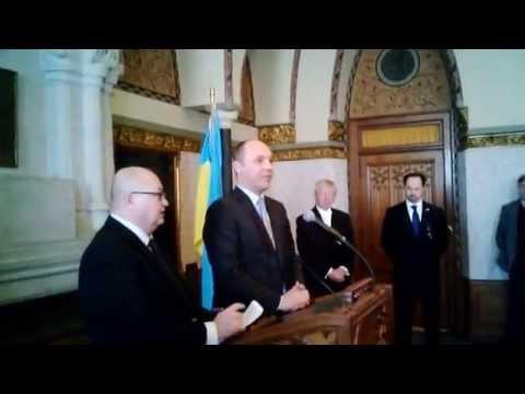 Deputy Speaker of Ukraine visits Ottawa.