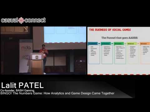 BINGO! The Numbers Game: How Analytics and Game Design Came Together | Lalit PATEL