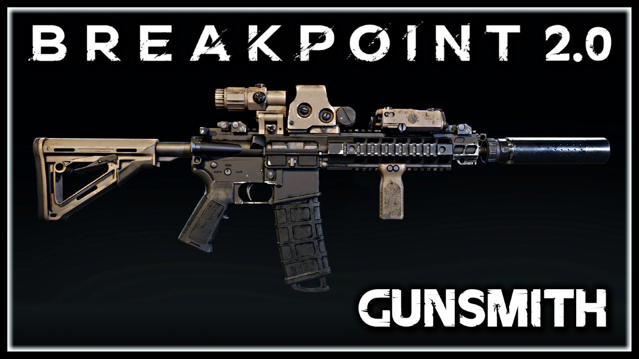 Ghost Recon Breakpoint 2.0 | Fan Made GUNSMITH Rework, Weapon Proficiency, Weapon Perks & More! thumbnail