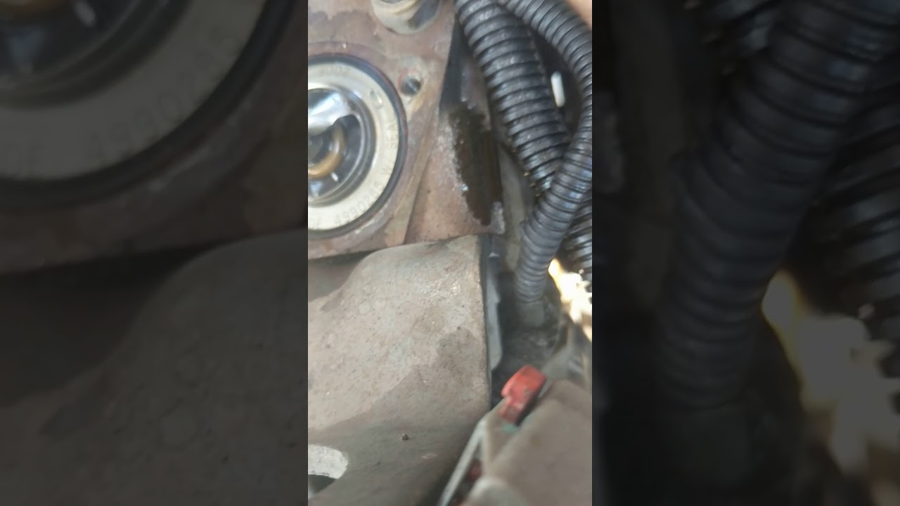 small resolution of 2011 dodge 2500 cummins 6 7 l water pump removal easy how to