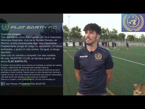 JAVI POVES//Última Entrevista en RT/Flat Earth FC thumbnail