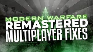Modern Warfare Remastered Multiplayer Fixes! (Call of Duty: Black Ops 3 Gameplay Commentary)