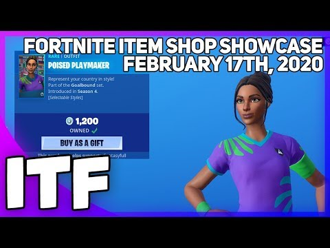 Fortnite Item Shop SOCCER SKINS ARE BACK! [February 17th, 2020] (Fortnite Battle Royale)