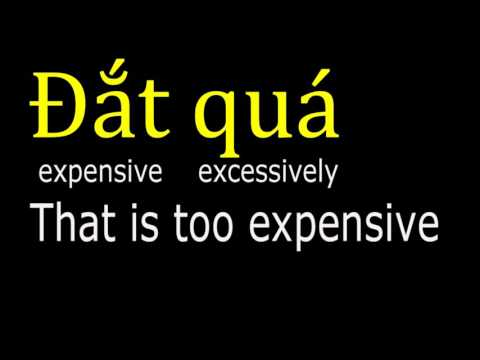 Vietnamese Lesson 1 (southern Accent) HD