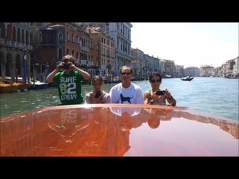 Venice: a tour of the Grand Canal