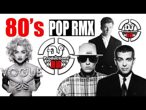 POP MIX 80S-DJ PRODUCTIONS. MADONNA, PET SHOP BOYS, ERASURE, OMD, NEW ORDER, KON KAN