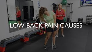 What are the Causes of Low Back Pain in Golf?