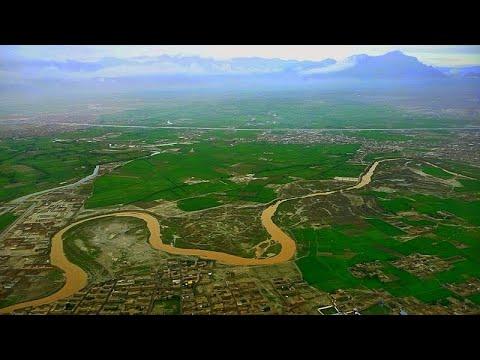 Kabul River - A  Beautiful View - نهر كابول - منظر جميل