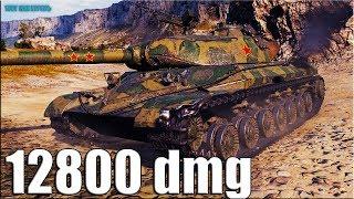 Тактика СТЕПНОЙ ОЛЕНЬ 12800 dmg 🌟 World of Tanks WZ-111 model 5A