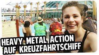 """Tag1 der """"70000 tons of metal"""" Cruise! Vlog mit Joyce und DocM77"""