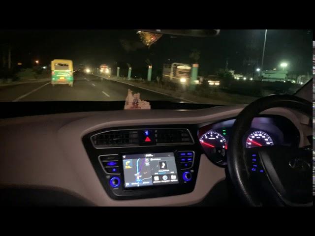 ❤️ i20 Night Driving Status ❤️ Long Drive Status ❤️