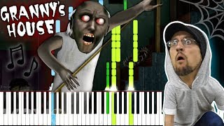 Granny's House (Granny Song) - FGTeeV [Synthesia Piano Tutorial]