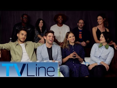 Supergirl Cast Interview + Singing! | Comic-Con 2017 | TVLin
