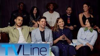 Supergirl Cast Interview + Singing! | Comic-Con 2017 | TVLine