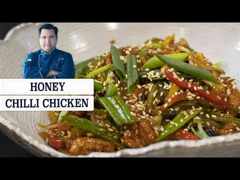 Restaurant Style Honey Chilli Chicken Recipe | Easy To Make Crispy Chicken Recipes | #chefajaychopra