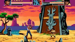 Shaq Fu 2 (Genesis) Gameplay: Diesel (Part 2)
