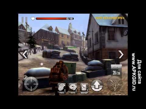 Обзор игры FRONTLINE COMMANDO: WW2 (комментарии + демонстрация геймплея)