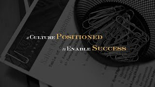W.J. Bradley - A Culture Positioned to Enable Your Success