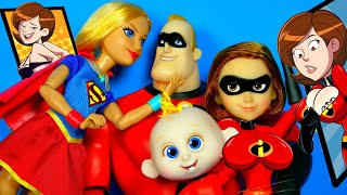 СУПЕРСЕМЕЙКА КУКЛЫ ОБЗОР #INCREDIBLES 2 Disney Pixar