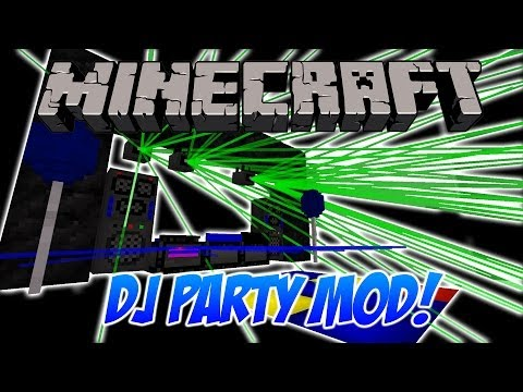 minecraft-dj-party-mod---lasers,-smoke-machines-and-more!---minecraft-mod-spotlight.