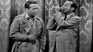 Jack Benny and Humphrey Bogart