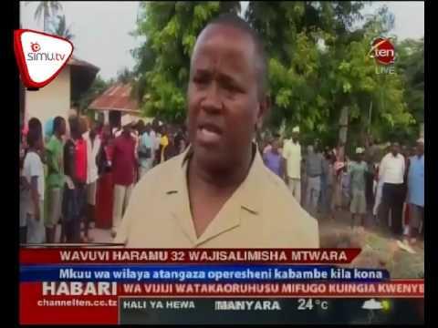 Wavuvi Haramu 32 Wajisalimisha Mtwara