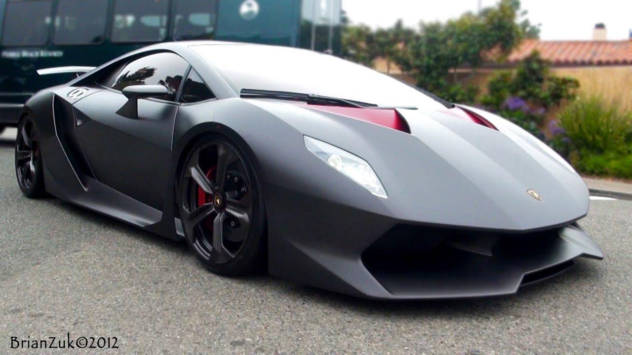 Lamborghini Sesto Elemento Start Ups And On Road Youtube