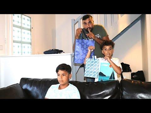 Surprise !!! joyeux anniversaire Adel ,adel sami les boys tv