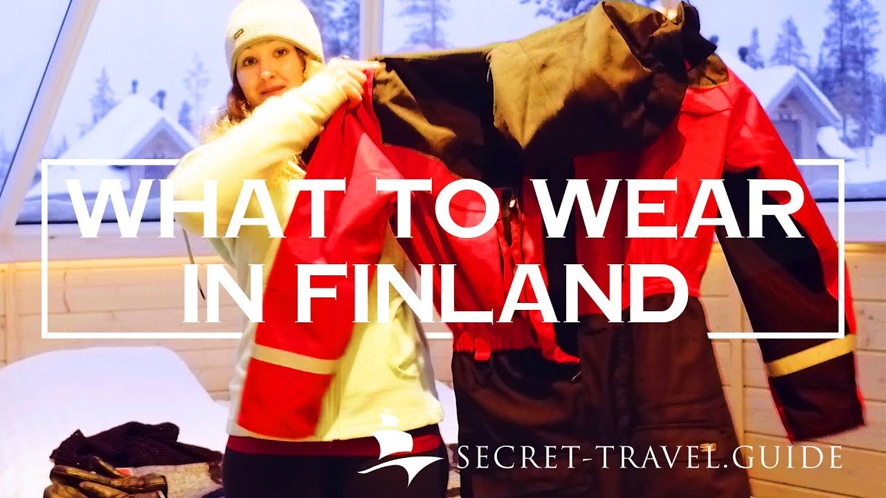 Lapland Finland in winter what to wear - thermal clothing for extreme cold cf94002e307
