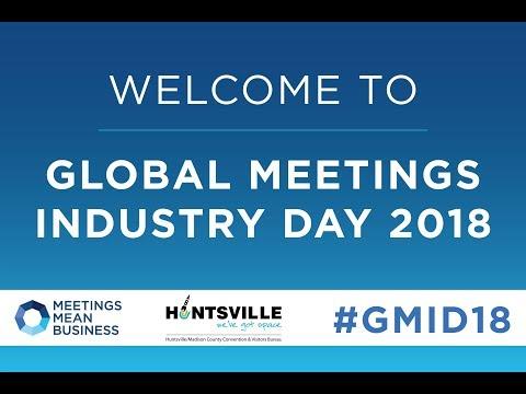 Global Meetings Industry Day Huntsville Alabama 2018