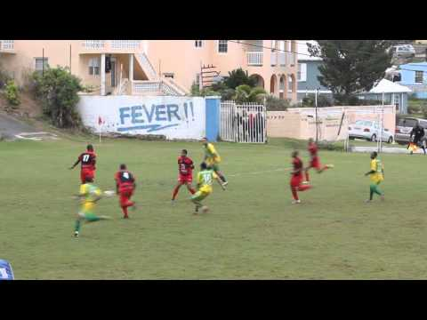 Devonshire Cougars vs Somerset Trojans Football Boxing Day Bermuda December 26 2011