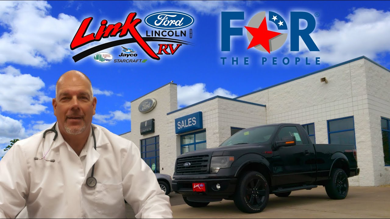 Link Ford Rice Lake >> Link Ford Rice Lake A Dealer For The People Youtube