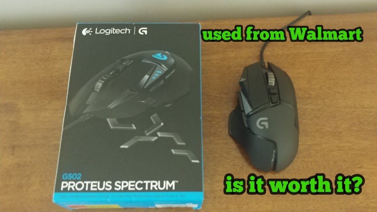 0653c1b1c7e is a used Logitech g502 from Walmart worth it? - YouTube