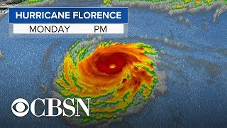 Millions brace for Hurricane Florence