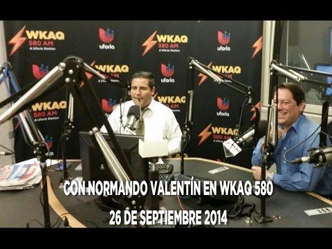 Lcdo. Juan Dalmau con Normando Valentin por WKAQ 580  AM