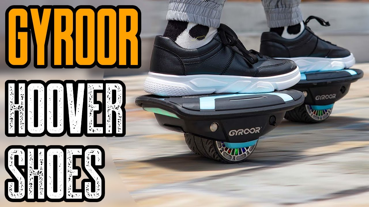 GYROSHOES - COOLEST HOVER SHOES YOU CAN BUY (GYROOR ELECTRIC SHOES)