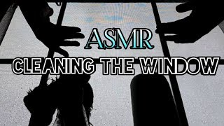 ASMR Cleaning the Window / Window Washing Sounds