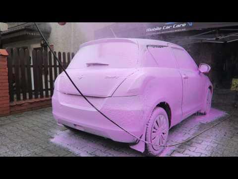 Shiny Garage Pink Foam Piana Aktywna pan-samochodzik.com