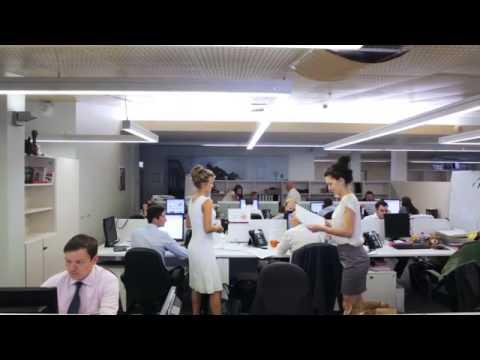 Рабочий день в Банке Москвы без комментариев, ретуши и спецэффектов