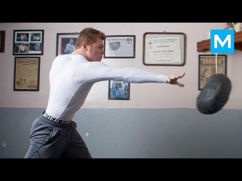 Saul Canelo Alvarez Boxing Training   Muscle Madness