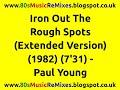 Miniature de la vidéo de la chanson Iron Out Rough Spots (7″ Mix)